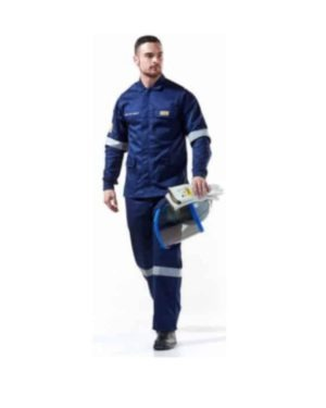 DROMEX NAVY BLUE 15CAL ELECTRIC ARC PANTS – ISO, NFPA & ASTM-F (ORANGE 12.4 OR NAVY 15) MOQ 1