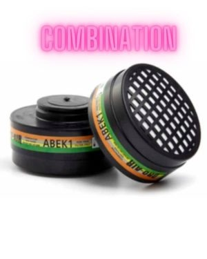 ABEK1 – TWIN UNIFIT Filter (NRCS: AZ2011/56) (1 SET OF CARTIRDGES PER PACKET)