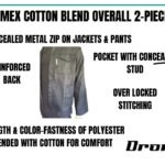DROMEX POLYCOTTON TWO PIECE CONTI SUITS (OVERALLS)