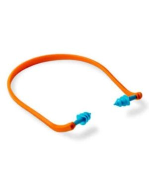Blue XTREE Re-Usable BANDED Earplug (SNR28) MOQ 400