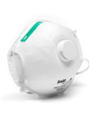 DRO-AIR FFP2 VALVED DUST MASKS MOQ 12