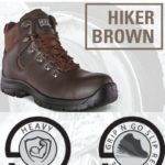 DOT Hiker Boot (Brown or Black) MOQ 5