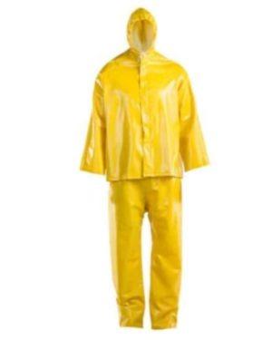 DROMEX HYDRO Yellow PVC rain suits, Small to 2XL MOQ 10