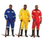 100% COTTON J54 230gsm ANGLO BOILER SUIT (one piece with reflective) Royal Blue, red, yellow) SANS 434 MOQ 15