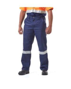 DROMEX J54 NAVY BLUE pants with REFLECTIVE MOQ 20