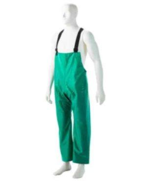 MARINE GREEN PVC  Storm Bib Pants, Small to 3XLS-3XL MOQ 20