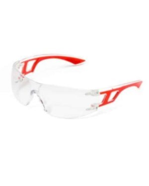 SPORTY COOL POLYCARBONATE LENS – VINYL FRAME – EN 166:2002 CLEAR, ANTI SCRATCH & ANTI FOG, RED/BLUE/LIME FRAME MOQ 12