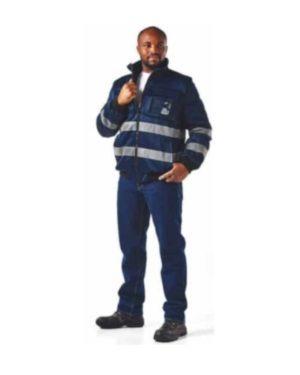 Dromex 100% Coated Oxford Polyester Hiviz Reflective Thermal Bunny Jackets, Waterproof Moq 1