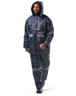 STORM POLAR NAVY BLUE PANTS – 300D OXFORD POLYESTER OUTER, QUILTED LINING, HEAVY DUTY ZIP MOQ 10