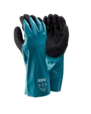 DROMEX ULTICHEM NITRILE TRIPPLE DIPPED, NON-SLIP, WATERPROOF, CHEMICAL GLOVE MOQ 12