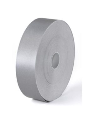 FLAME RETARDENT TAPE, SILVER 50mm ( 5cm),50 mtr roll MOQ 16