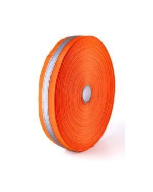 ORANGE Reflective PVC Tape, 50mm(5cm) ,50m rolls MOQ 20