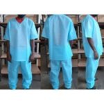 50GSM DISPOSABLE SCRUBS 2 PIECE MOQ 50