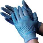 VINYL CLEAR OR BLUE EXAMINATION, POWDER FREE, BOX OF 100 GLOVES