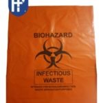 BIOHAZARD BAGS 50 X 60CM PACK OF 50 (50 MICRONS) – SPECIAL VALID FOR 50 PACKS AND MORE