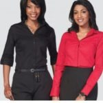 Ladies Abbey 3/4 Blouse- Price Vary Per Size