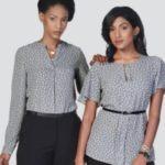 Ladies Fleur K229 S/S Blouse – Price Vary Per Size