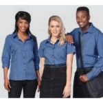 Ladies Heath S/S Blouse- Price Vary Per Size