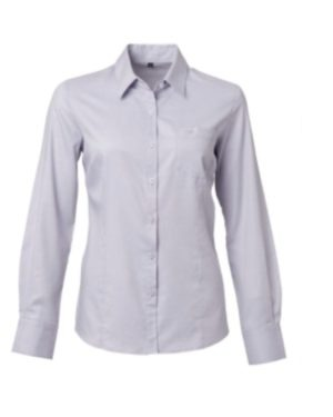 LADIES LUCCA L/S BLOUSE  – PRICE VARY PER SIZE