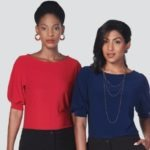 LADIES LEAH 3/4 BLOUSE- PRICE VARY PER SIZE
