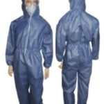 LAMINATED BLUE 65GSM COVERALL