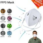 DROMEX 3231 DISPOSABLE FLAT FOLD FFP3 MASK (N99 RATED)