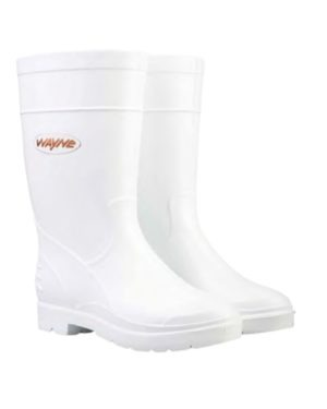 F1691 WAYNE DURALIGHT LADIES – NSTC LADIES WHITE UPPER AND WHITE SOLE SABS APPROVED