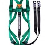 BOVA STANDARD HARNESS: DOUBLE LEG LANYARD WITH SNAP HOOKS- NON-BELTED