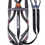 SISI STANDARD HARNESS: DOUBLE LEG LANYARD WITH SCAFFOLDING HOOKS – NON-BELTED