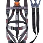 SISI BELTED HARNESS: DOUBLE LEG LANYARD WITH SCAFFOLDING HOOKS – BELTED