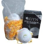 Reiyn Ffp2 Valved Dust Masks – Nrcs & Sans En:149:2001 Approved
