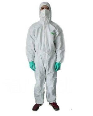 DISPOSABLE TYPE 5/6 COVERALLS (EN14126 APPROVED )