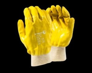 NITRILE COATED KNITTED WRIST GLOVES - DURABLE